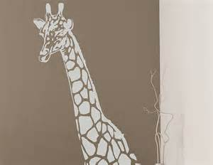 Giraffe Wall Sticker Contemporary Wall Stickers
