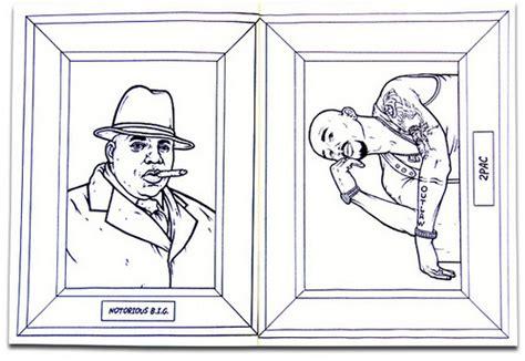 gangsta rap coloring book 10 coloring books for adults mental floss