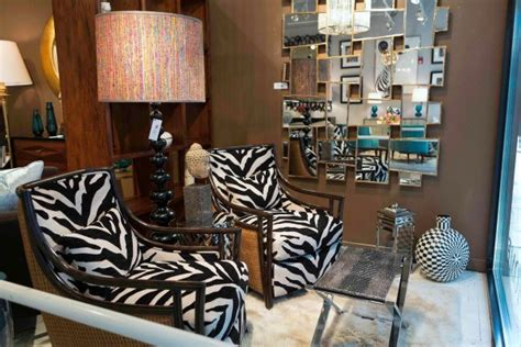 Living Spaces  Zebra Print Accents