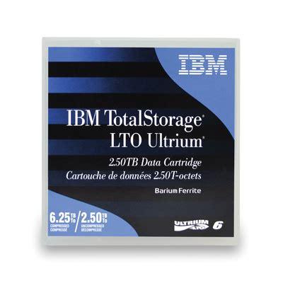 Ibm Data Cartridge Lto 6 2 5tb 6 25tb 00v7590 ibm ibm lto ultrium 6 2 5tb 6 25tb ibm00v7590