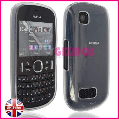 Silicon Nokia Asha 200 stylish smooth matt design gel silicone rubber cover