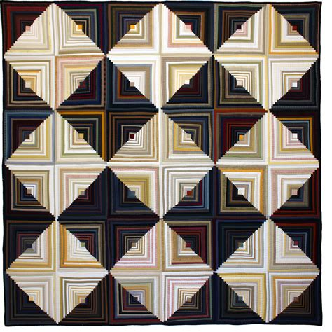 Log Cabin Patchwork - part 2 tara faughnan shares quilts see how we sew