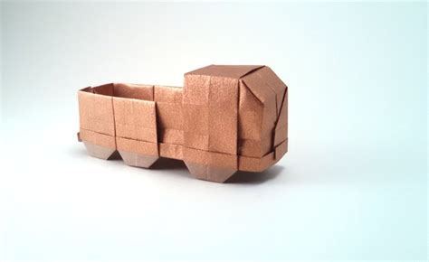 how to make an origami truck origami cars gilad s origami page