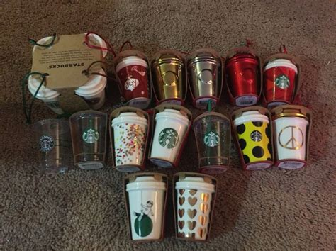 starbucks ornaments christmas the hutch house