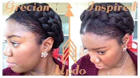greek goddess braid on african american women greek goddess crown braid tutorial protective style