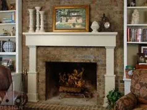 Fireplace Mantels On Brick by How To Decorate A Fireplace Mantel With Pictures 5 Ways