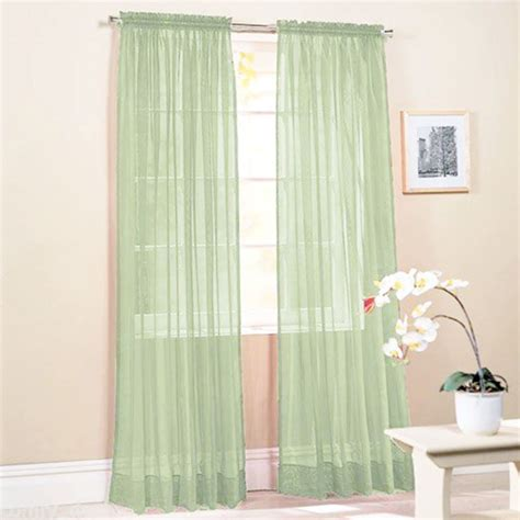 sheer and solid curtains chic home door window solid sheer curtains colors voile