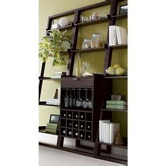leaning wine bar bookcase set 1000 images about furniture on pinterest milo baughman