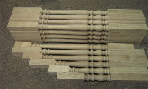 Turned Balusters Balusters Stair Spindles Acorn Woodturning