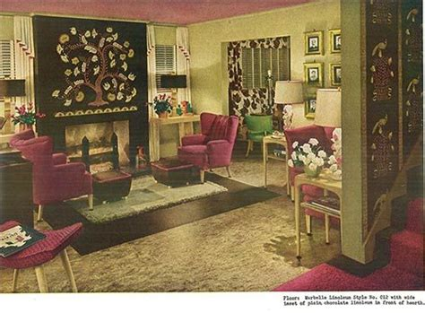 plum living room accessories 92 best images about 1940s living room on small armchairs vintage homes and kitchen