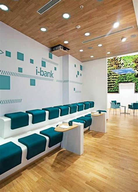 Interior Bank Design by Bank Pushes Alternative Channels With Ultra Sleek Ibank Store