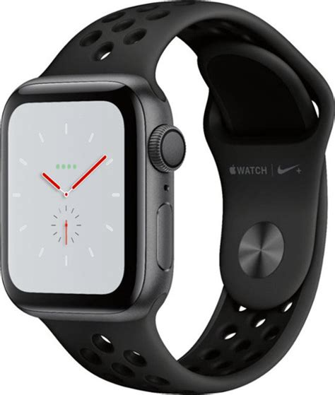 Apple Series 4 Nike Band by Apple Nike Series 4 Gps 40mm Space Grey Aluminium With Anthracite Black Nike