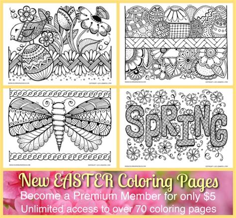 coloring pages bliss blog easter coloring sheets to download