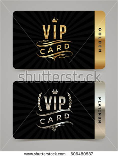 vip card design template stock images royalty free images vectors