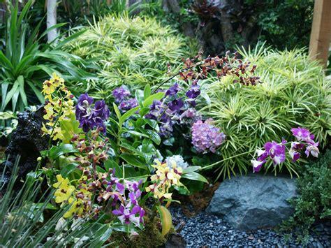 Orchideen Im Garten by Blumengarten Bilder Blumengarten Fotos Als Hintergrundbilder
