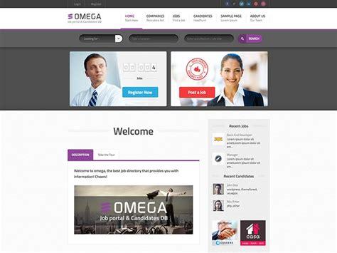 theme wordpress omega 11 best wordpress job board themes for 2014 siteturner com