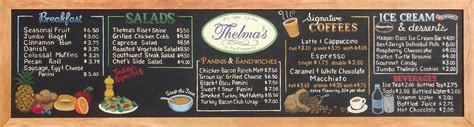 Home Menu Board Design Thelma S Deli Chalkboard Menu Flickr Photo