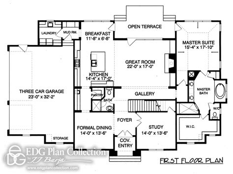 french provincial floor plans provincial french country house plan french country