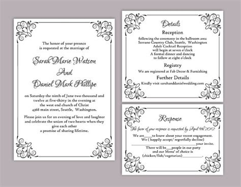 diy wedding invitation templates free jaw dropping diy wedding invitation templates theruntime