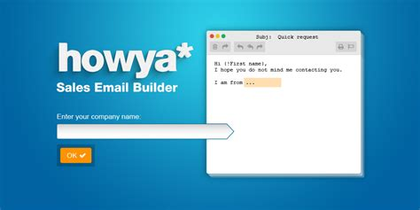Prospecting Email Templates Builder Onepagecrm Prospecting Email Template