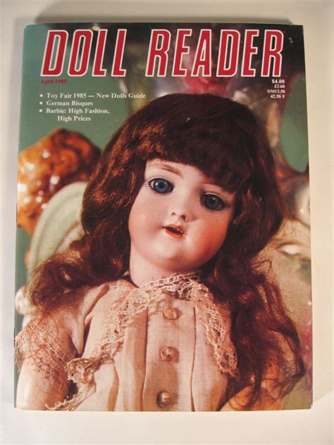doll reader magazine 1985 doll reader magazine fair new dolls guide german