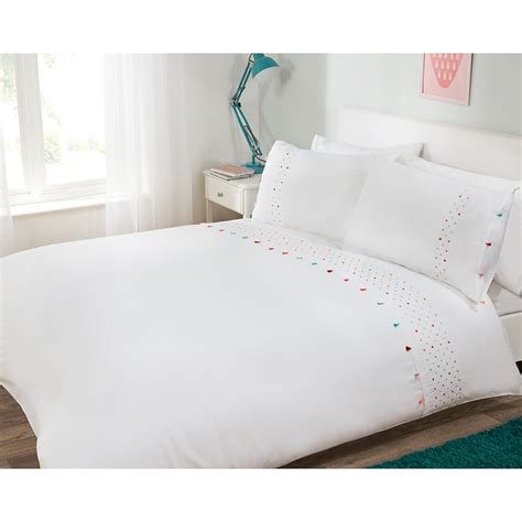 Pom Pom Duvet Pom Pom Single Duvet Set Bedding Sets B Amp M Stores