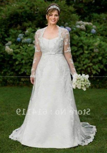 Plus size wedding dresses with lace sleeves 2018 2019   Best Clothe Shop