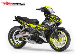 Decal Motor Yamaha Mio M3 Nvidia Green Black modifikasi decal stiker fullbody kawasaki 250r fi