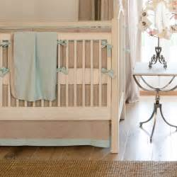 Baby Crib Bedding Boy Light Blue Linen Crib Bedding Baby Boy Linen Crib Bedding Carousel Designs