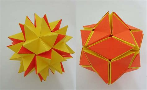 Origami Magic Trick Revealed - 1000 images about origami kusudama op origami