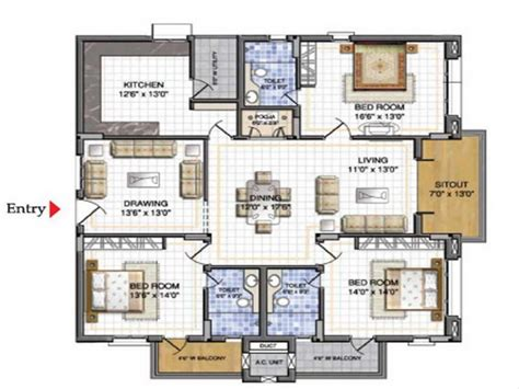 House Plan Maker by The Advantages We Can Get From Free Floor Plan