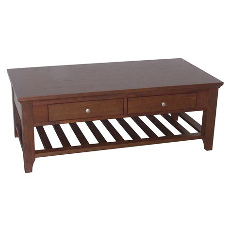 Coffee Table With Drawers by Ore International Fraser Coffee Table 2 Drawers By Oj