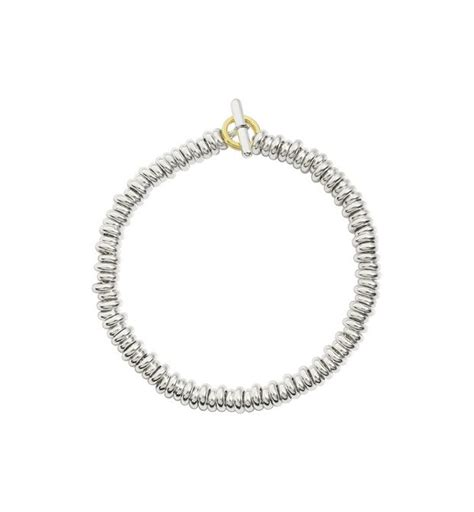 pomellato 67 collection prezzi bracelet kit avec rondelles en argent argent or jaune