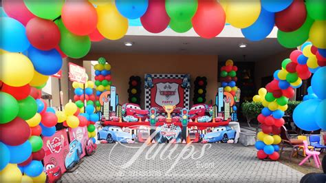 Bday Decoration Ideas At Home by Cars Theme Party Ideas And Planner In Pakistan