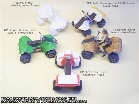 Papercraft Bike - tr3 papercraft bikes by ninjatoespapercraft on deviantart