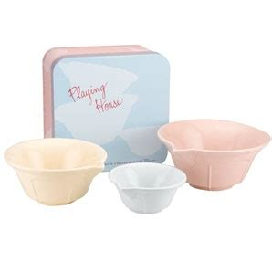 house of bowls buy rosanna playing house mixing bowls set of 3 products i love pinterest