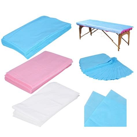 massage couch cover 10pcs waterproof disposable nonwoven bed sheet couch cover