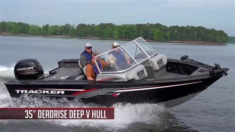 tracker boats used deep v tracker boats 2017 targa v 18 wt deep v angelboot youtube