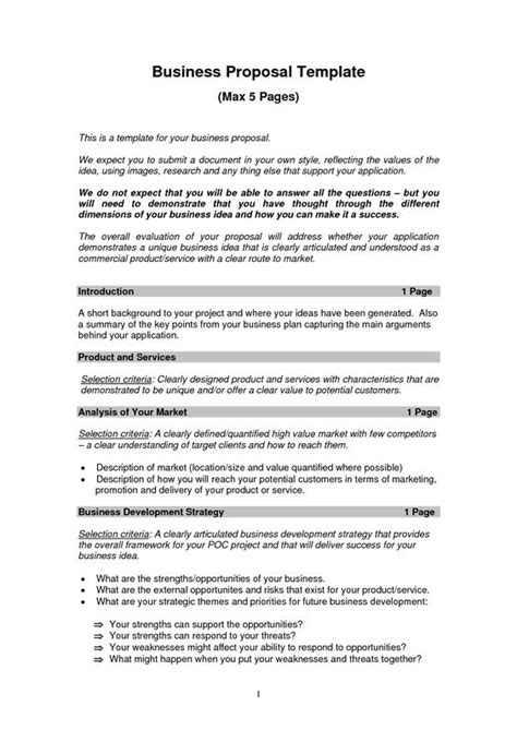 templates for forms in business printable sle business proposal template form forms