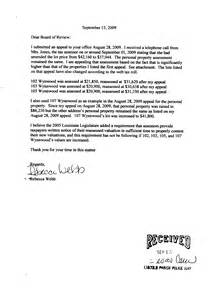Property Tax Appeal Letter by Becky Webb S Appeal Letter To The Louisiana Tax Commission Becky Webb