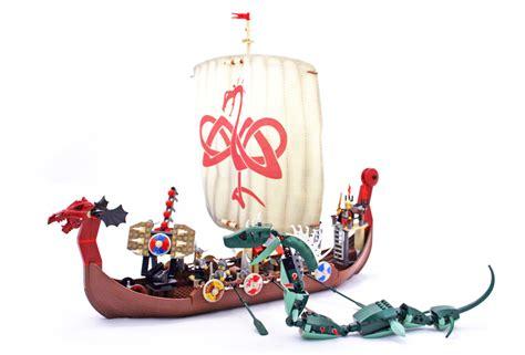 lego viking boat instructions viking ship challenges the midgard serpent lego set