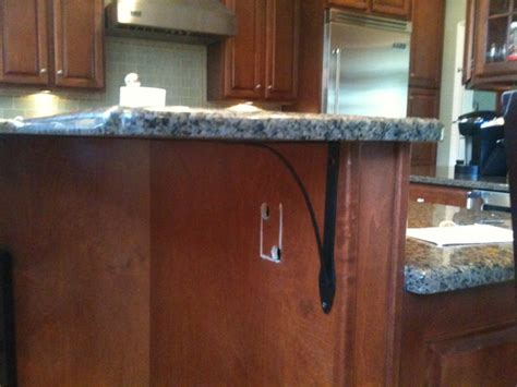 kitchen island electrical outlets gen3 electric 215 352 5963 adding an outlet on a kitchen island