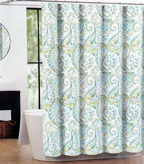 teal and green shower curtain blue and gray shower curtain com tahari fabric