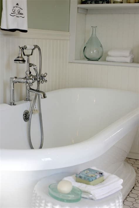 Cottages Near Bath With Tub by Golden Boys And Me Master Bathroom With Pedestal Tub