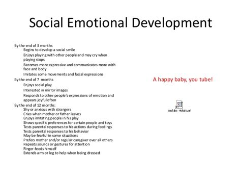 Social And Emotional Development In Early Childhood Essay by Atypical Child Development