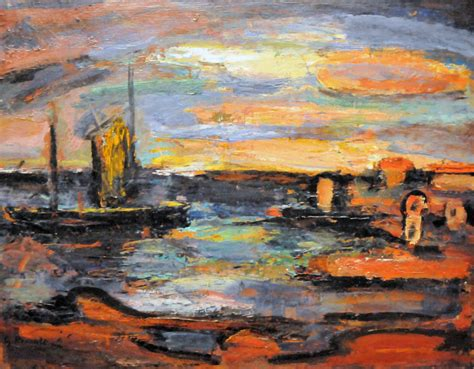 free of painting georges rouault afterglow galilee at phillips colle