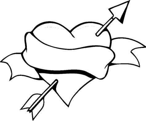 coloring page of a heart heart coloring pages coloring pages to print