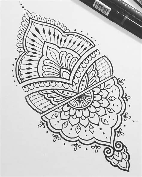 henna tattoos to draw 25 best ideas about mandala design on