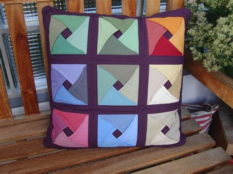 How To Do Cathedral Window Patchwork - folded patchwork japanesse foldet quilt cathedral