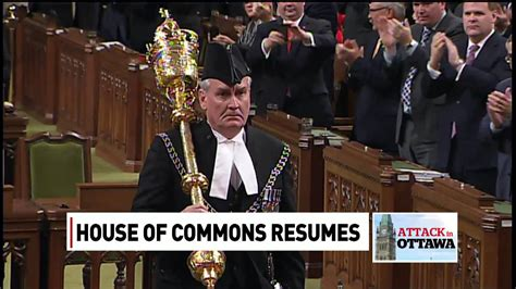 at arms sergeant at arms kevin vickers receives standing ovation